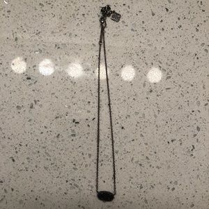 Kendra Scott Black Necklace